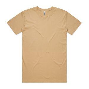 חולצת T אס קולור לגברים As Colour BASIC - צהוב