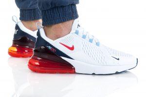 נעלי ריצה נייק לגברים Nike AIR MAX 270 - לבן/אדום