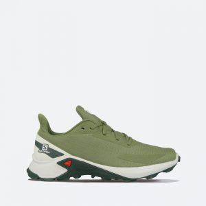 נעלי ריצה סלומון לגברים Salomon Alphacross Blast - ירוק כהה