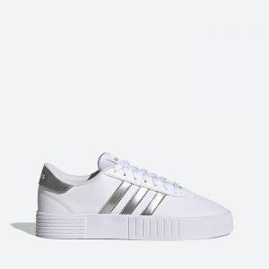 נעלי סניקרס אדידס לנשים Adidas Court Bold - לבן/כסף