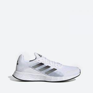 נעלי סניקרס אדידס לגברים Adidas Duramo SL - לבן הדפס