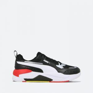 נעלי סניקרס פומה לגברים PUMA Ferrari Race X-Ray 2 - שחור/אדום