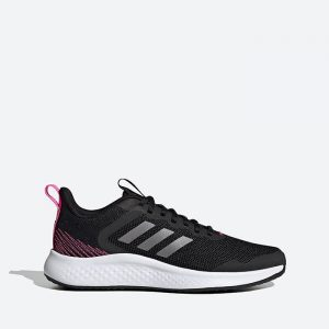 נעלי ריצה אדידס לנשים Adidas Fluidstreet - שחור/ורוד