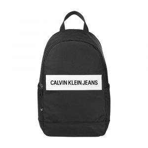 תיק קלווין קליין לגברים Calvin Klein ROUNDED BP43 - שחור/לבן