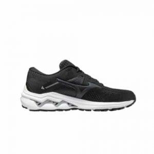 נעלי ריצה מיזונו לגברים Mizuno Wave Inspire 17 - שחור/לבן