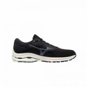 נעלי ריצה מיזונו לגברים Mizuno Wave Rider 24 - שחור/לבן
