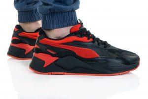 נעלי סניקרס פומה לגברים PUMA Rs-X3 Prism - שחור/אדום