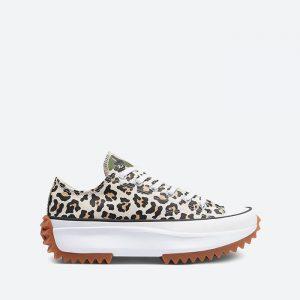 נעלי סניקרס קונברס לנשים Converse Run Star Hike - מנומר