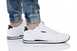 נעלי סניקרס פומה לגברים PUMA ST RUNNER V2 FULL L - לבן