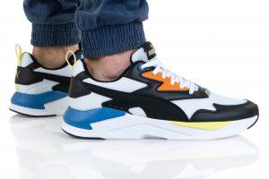 נעלי סניקרס פומה לגברים PUMA X-RAY LITE - צבעוני/שחור