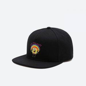 כובע ואנס לגברים Vans x SpongeBob Cap - שחור