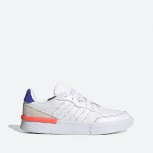 נעלי סניקרס אדידס לגברים Adidas Clubcourt - לבן