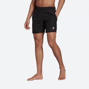 בגד ים אדידס לגברים Adidas Originals Essentials SS - שחור