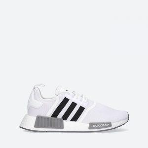 נעלי סניקרס אדידס לגברים Adidas Originals Nmd_R1 Primeblue - לבן