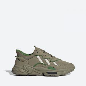 נעלי סניקרס אדידס לגברים Adidas Originals Ozweego - ירוק