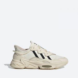 נעלי סניקרס אדידס לגברים Adidas Originals Ozweego - לבן