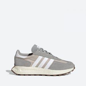 נעלי סניקרס אדידס לגברים Adidas Originals Retropy E5 - אפור בהיר