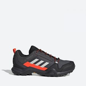 נעלי טיולים אדידס לגברים Adidas Terrex AX3 Gore-Tex - שחור/אפור