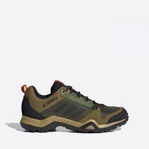 נעלי טיולים אדידס לגברים Adidas Terrex AX3 - ירוק