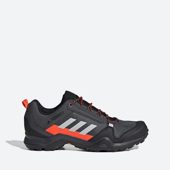 נעלי טיולים אדידס לגברים Adidas Terrex Ax3 - שחור/אפור