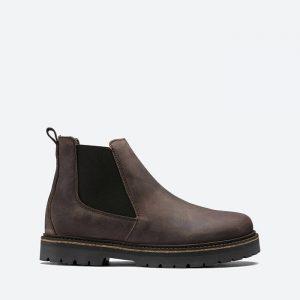 מגפי בירקנשטוק לגברים Birkenstock Stalon - שחור/חום
