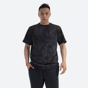 חולצת T קונברס לגברים Converse Marble Cut and Sew - שחור