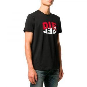 חולצת T דיזל לגברים DIESEL T-Diegos N22 - שחור