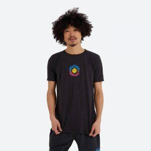 חולצת T אלסה לגברים Ellesse x Smiley Cheero - שחור