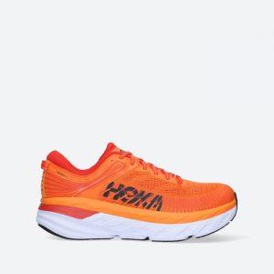 נעלי ריצה הוקה לגברים Hoka One One Bondi 7 - כתום