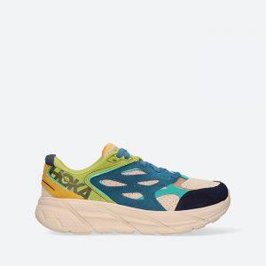 נעלי ריצה הוקה לגברים Hoka One One Ms Clifton L Suede - ירוק