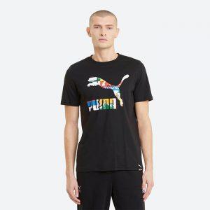 חולצת T פומה לגברים PUMA Black-Archive - שחור