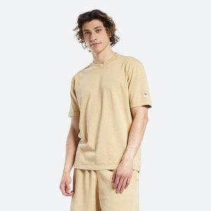 חולצת T ריבוק לגברים Reebok Natural Dye - צהוב