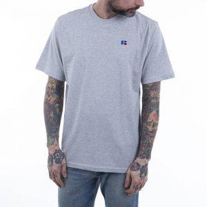 חולצת T ראסל אתלטיק לגברים Russell Athletic GREAT - אפור