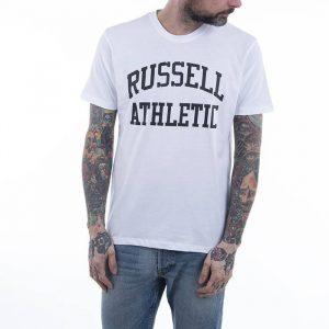 חולצת T ראסל אתלטיק לגברים Russell Athletic Crewneck - לבן