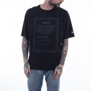 חולצת T ראסל אתלטיק לגברים Russell Athletic Crewneck - שחור