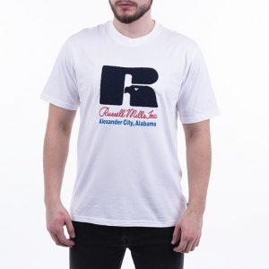 חולצת T ראסל אתלטיק לגברים Russell Athletic Jason - לבן