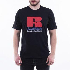 חולצת T ראסל אתלטיק לגברים Russell Athletic Jason - שחור