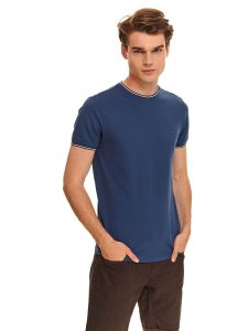 חולצת T טופ סיקרט לגברים TOP SECRET BLU - כחול