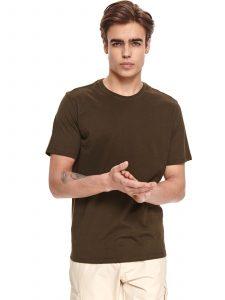 חולצת T טופ סיקרט לגברים TOP SECRET Brownie - ירוק