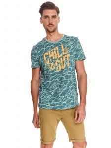 חולצת T טופ סיקרט לגברים TOP SECRET CHILL - צבעוני בהיר