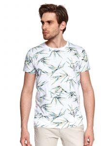 חולצת T טופ סיקרט לגברים TOP SECRET FUN - לבן