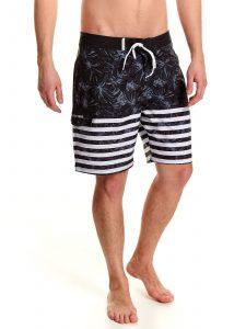 בגד ים טופ סיקרט לגברים TOP SECRET Freedom - שחור/לבן