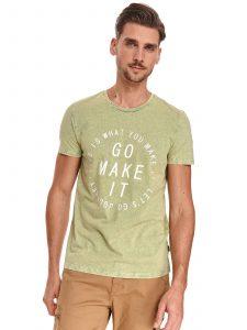 חולצת T טופ סיקרט לגברים TOP SECRET GO - ירוק