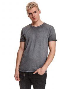חולצת T טופ סיקרט לגברים TOP SECRET GRY - אפור
