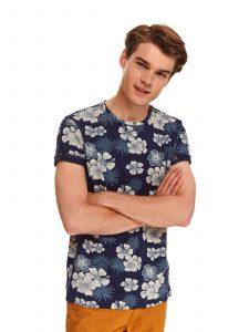 חולצת T טופ סיקרט לגברים TOP SECRET Joy - כחול