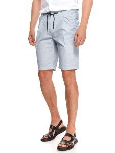 מכנס ברמודה טופ סיקרט לגברים TOP SECRET Lace - לבן/ כחול