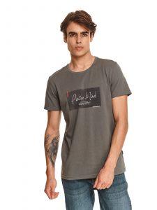 חולצת T טופ סיקרט לגברים TOP SECRET Mind - אפור
