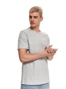 חולצת T טופ סיקרט לגברים TOP SECRET SOFTGRY - אפור בהיר
