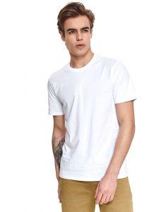 חולצת T טופ סיקרט לגברים TOP SECRET WHT - לבן