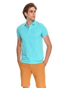 חולצת T טופ סיקרט לגברים TOP SECRET clear - כחול